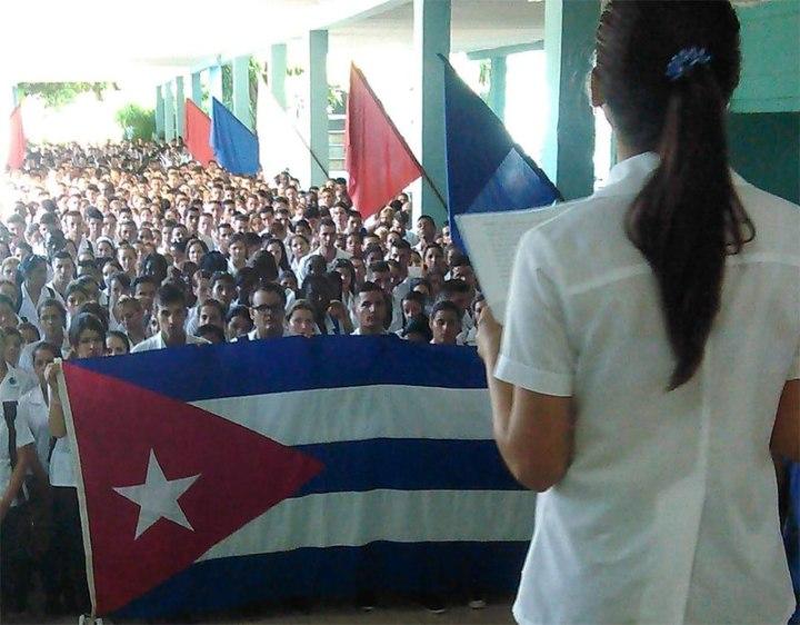 Aseguraron estudiantes de la Universidad de Ciencias Médicas que los cambios en Cuba que espera el imperio serán decididos aquí y ellos serán protagonistas, pero para hacer más revolución.