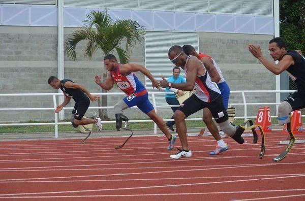 El deporte le devolvió a Felipe Rafael Sánchez Acosta los deseos de vivir tras sufrir un accidente y perder parte de la pierna izquierda. Foto: Cortesía del entrevistado.