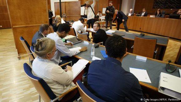 Sesión del juicio a voleibolistas. Foto: Getty Images.