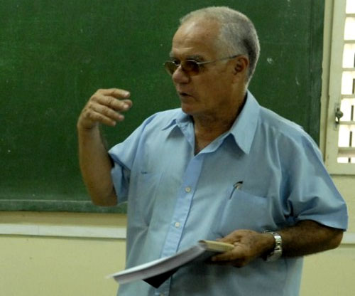 Julio García Luis. Foto tomada de Cubaperiodistas.