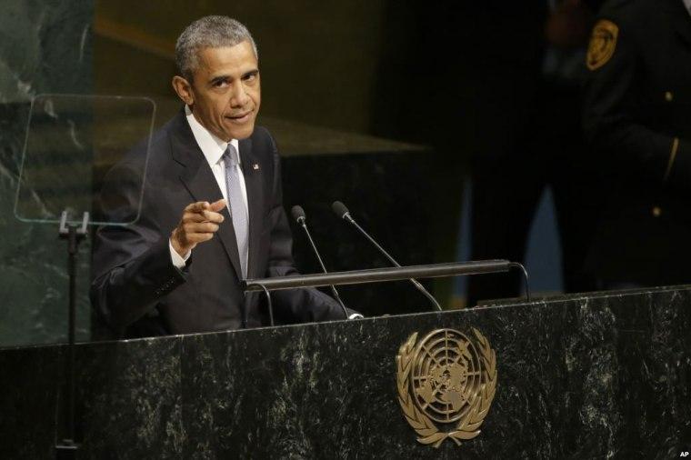 Barack Obama se atrevió a hablar sobre los logros de la ONU en los setenta años desde su creación.