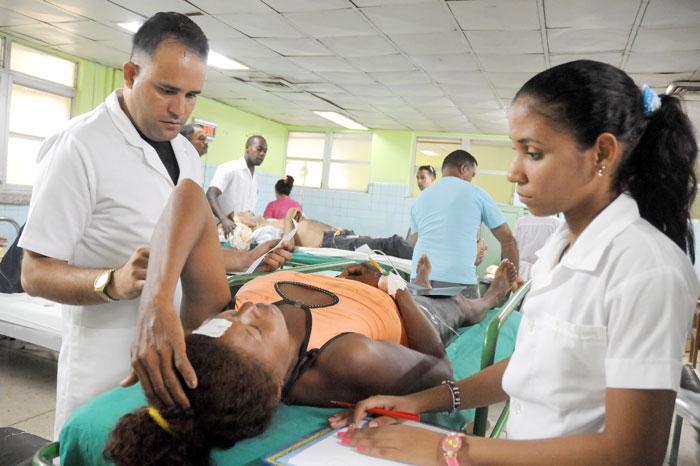 Una fallecida y seis lesionadas en accidente de tránsito ocurrido en el poblado de Boca de Jauco, Maisí. Foto: Leonel Escalona Furones.