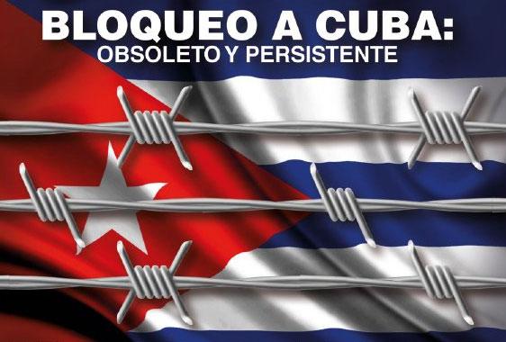 El bloqueo sigue afectando al pueblo de Cuba.