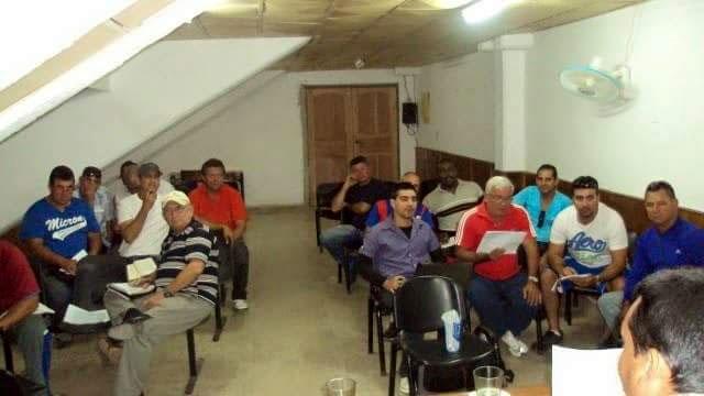 Reunión de expertos para la selección de los refuerzos, a la segunda etapa de la Serie Nacional 56. Foto: Jorge Ramiro Velázquez Remón.