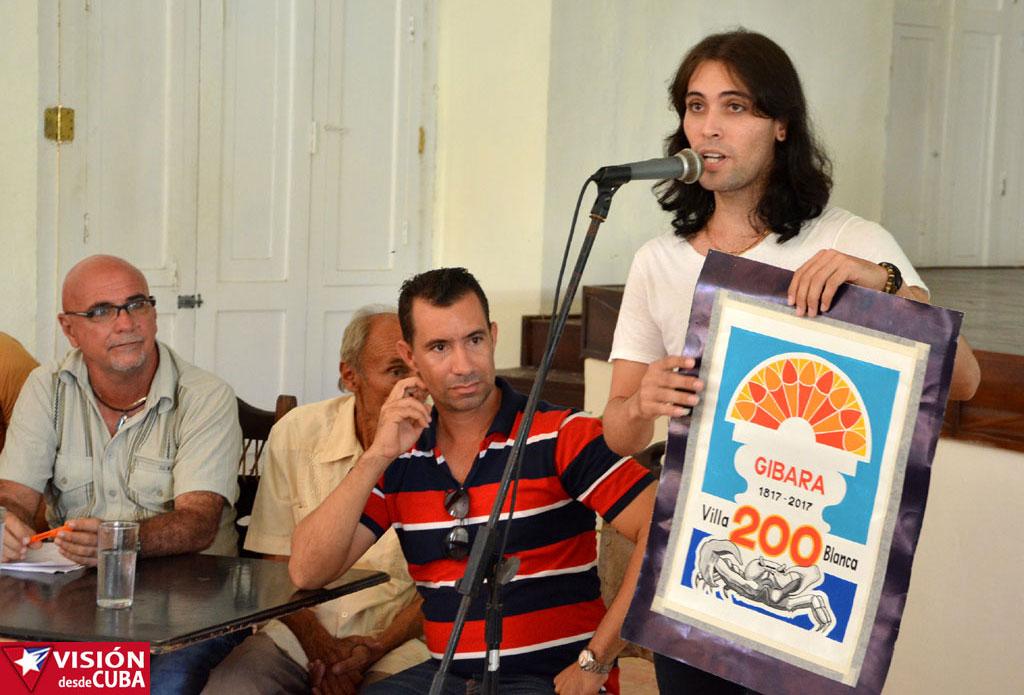 En la Villa Blanca de Gibara se anunció el inicio en enero, de la campaña por su aniversario 200. Fotos: Luis Ernesto Ruiz Martínez.