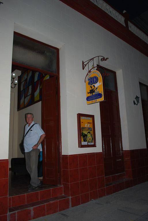 Inaugurada en Holguín primera Sala 3D. Foto: Carlos Parra Zaldívar.