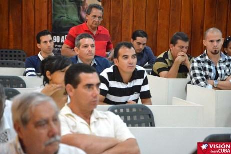 Primer Encuentro de Experiencias Mediáticas Alternativas, prmovido por el ICAP, efectuado en el Hotal Pernik de Holguín. VDC FOTO/Luis Ernesto Ruiz Martínez.