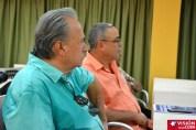 El Maestro Frank Fernández, asistió a los debates del Primer Encuentro de Experiencias Mediáticas Alternativas, prmovido por el ICAP, efectuado en el Hotal Pernik de Holguín. VDC FOTO/Luis Ernesto Ruiz Martínez.