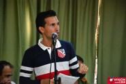 Luis Felipe Maldonado, periodista y profesor de la Universidad de Holguíin, en los debates del Primer Encuentro de Experiencias Mediáticas Alternativas, prmovido por el ICAP, efectuado en el Hotal Pernik de Holguín. VDC FOTO/Luis Ernesto Ruiz Martínez.