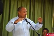 Alcides García Carrazana, representante del Centro Martin Luther King Jr y Coordinador de los Movimientos del ALBA, participa en el Primer Encuentro de Experiencias Mediáticas Alternativas, prmovido por el ICAP, efectuado en el Hotal Pernik de Holguín. VDC FOTO/Luis Ernesto Ruiz Martínez.