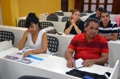 Participantes en el Primer Encuentro de Experiencias Mediáticas Alternativas, prmovido por el ICAP, efectuado en el Hotal Pernik de Holguín. VDC FOTO/Luis Ernesto Ruiz Martínez.