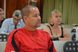 Jorge Luis Pérez Serrano, Subdirector provincial de Joven Club, asiste al Primer Encuentro de Experiencias Mediáticas Alternativas, prmovido por el ICAP, efectuado en el Hotal Pernik de Holguín. VDC FOTO/Luis Ernesto Ruiz Martínez.