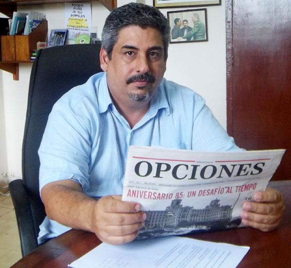Iván Barreto Gelles, director general de Cinesoft. Foto: Ledys Camacho Casado.