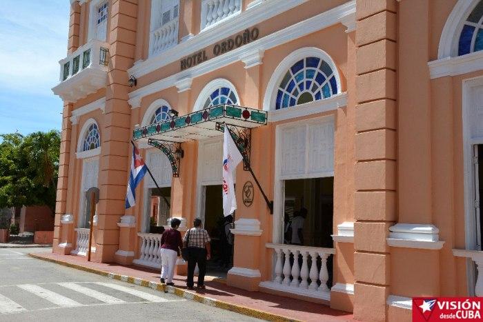 Hotel Ordoño, parada obligada en toda visita a Gibara. Foto: Luis Ernesto Ruiz Martínez.