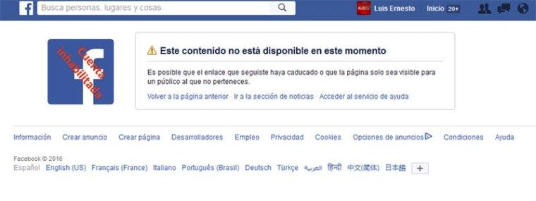 Facebook inhabilita la cuenta del bloguero cubano Iroel Sánchez.