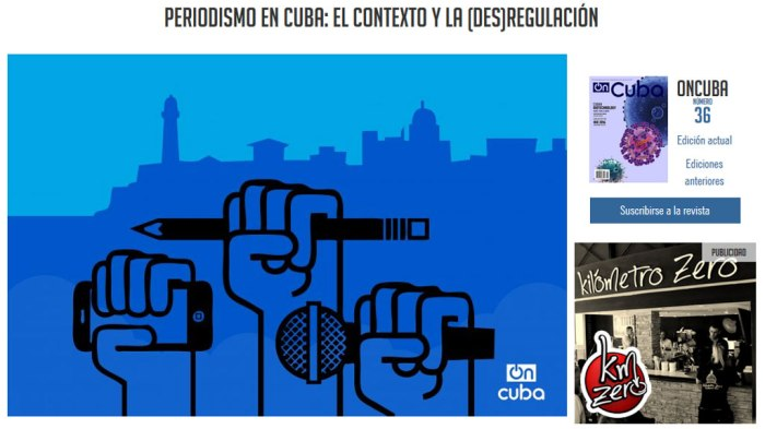 Captura del artículo publicado en OnCuba sugiriendo la lectura de un texto de CubaPsible. Vaya manera de mostrarse en alianza.