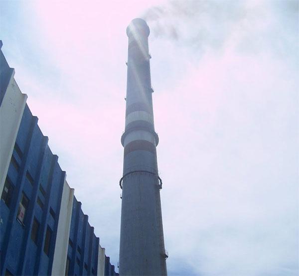 Central Termoeléctrica Lidio Ramón Pérez. Foto tomada del blog del autor.