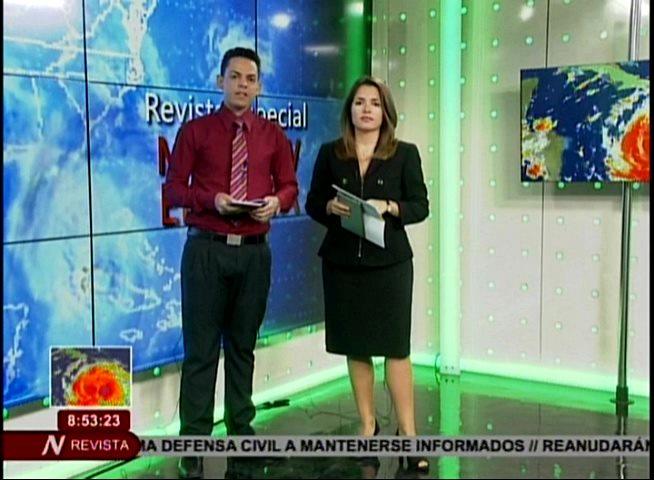 Cubavisión transmitió una Revista Especial que se mantuvo en el aire para informar a la población de lo acontecido durante el paso del Huracán Matthew por el oriente de Cuba.