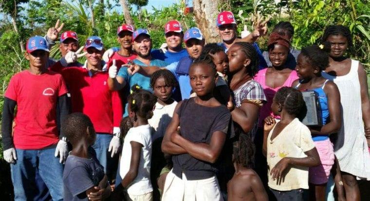 La Brigada Cubana sigue atendiendo a la población más afectada de Haití.