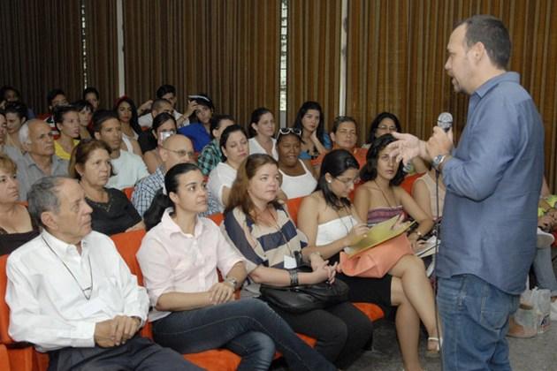 Raúl Garcés Corra, decano de la Facultad de Comunicación de la Universidad de La Habana.