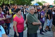 Profesores y estudiantes de la Universidad de Holguín celebran el Día Internacional del Estudiante. UHO FOTO/Luis Ernesto Ruiz Martínez.