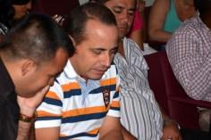 El Dr.C. Miguel Cruz Ramírez, Vicerrector de Investigaciones de la Universidad de Holguín, en el acto de graduación del Diplomado de Gestión Empresarial y Dirección en Administración Pública, efectuado en la Escuela del Partido el 18 de noviembre de 2016. UHO FOTO/Luis Ernesto Ruiz Martínez.