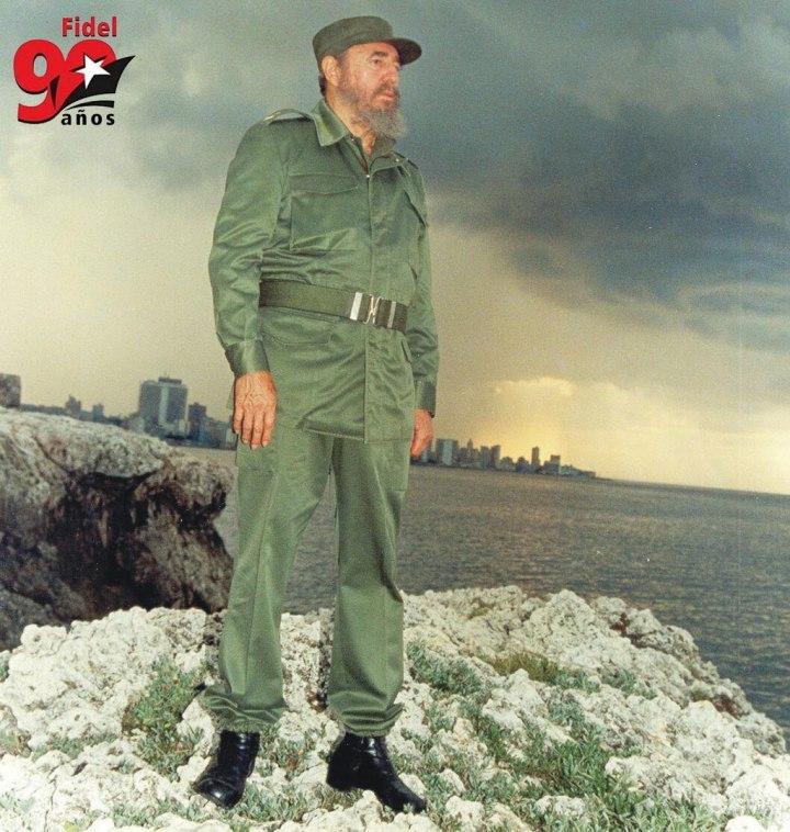 Fidel, esta es la cosecha de lo que aprendimos a sembrar con tu ejemplo.