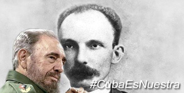 Fidel interpretó, como pocos, las lecciones de Martí sobre nuestra historia.