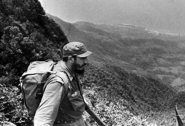Fidel por siempre en la Sierra Maestra.