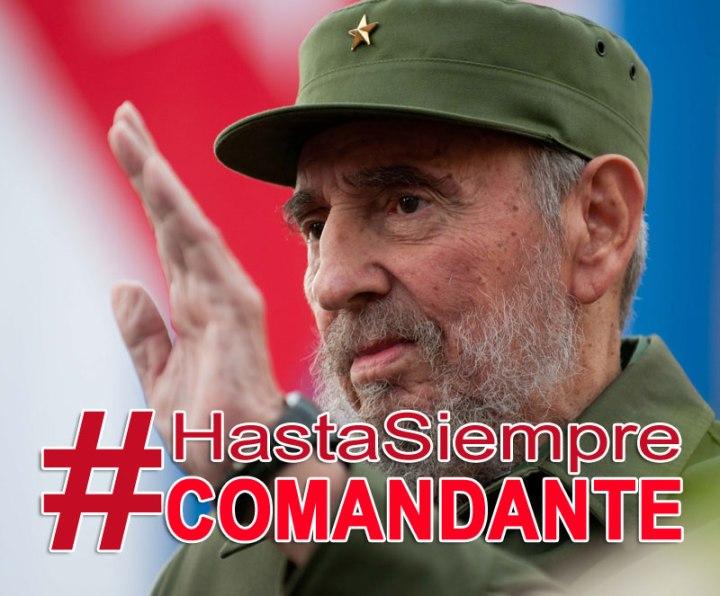 Fidel seguirá siendo ejemplo para millones en todo el mundo.