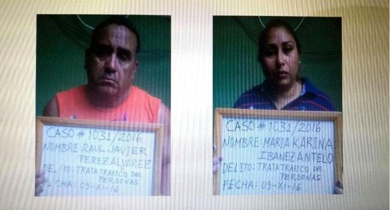 Las personas que fueron detenidas por el presunto delito de trata y tráfico de personas con fines de explotación laboral, ofrecían trabajo en Estados Unidos y luego los abandonaban.