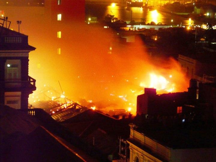 Fotos Palomo (Poder Popular Provincial). Tomada del blog Santiago arde.