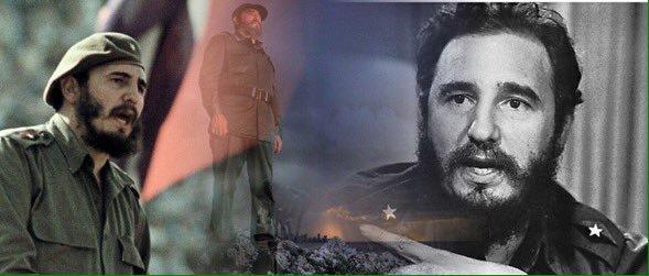 Fidel Vive, no lo olvide Mr. Trump.