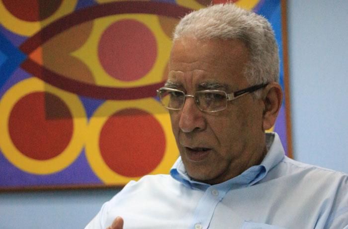 Eduardo Torres Cuevas es director de la Biblioteca Nacional José Martí y Premio Nacional de Historia y de Ciencias Sociales