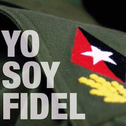 Fidel seguirá vivo en millones.