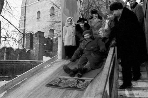 En la URSS en 1963.