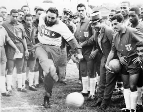 Fidel practica deportes, febrero de1960