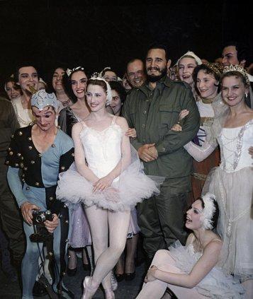 Fidel y el ballet.