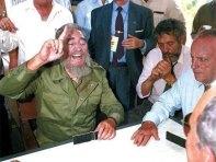 Fidel en lancara, Galicia.