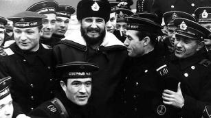 Fidel en la URSS, 1963.