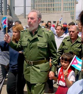 Marcha con Fidel.