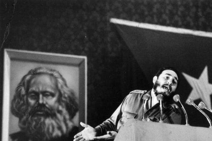 En la obra de Fidel ha estado siempre presente el ideario marxista. Foto tomada de internet.