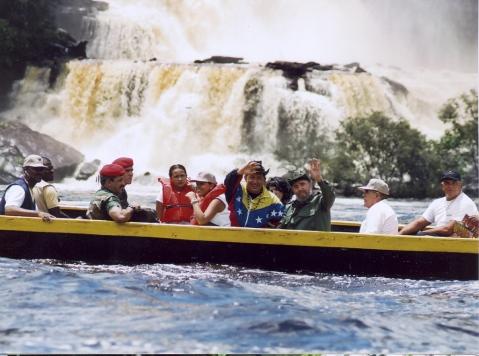 Fidel en Venezuela, agosto de 2001