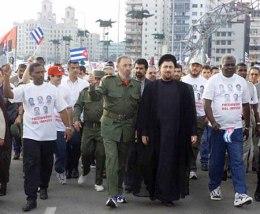 Fidel y Hasasan.