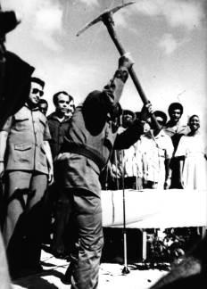Fidel en jamaica, octubre de 1977.