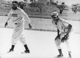 En Playa Varadero, el 5 de julio de1964.