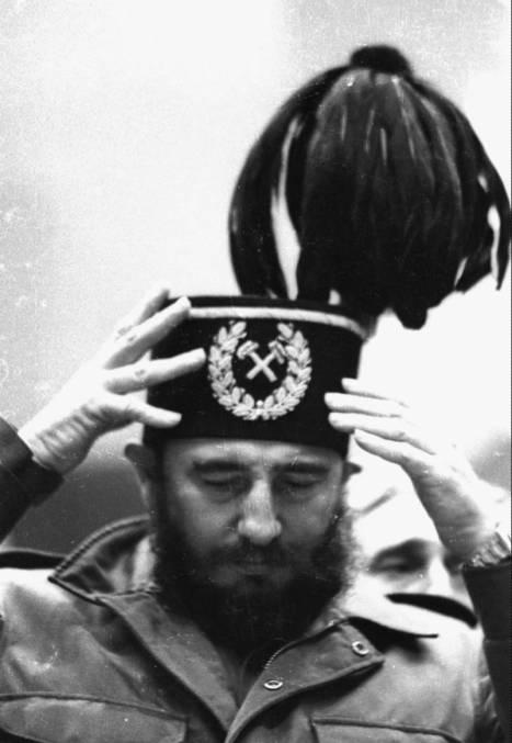 Fidel en Polonia, junio de 1972