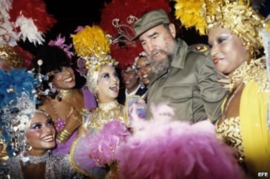 Fidel en Tropicana, 1986.
