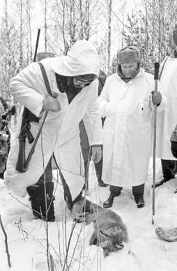 Fidel en la URSS, abril de 1963.