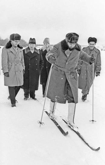 Fidel en la URSS, mayo de 1963.